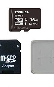 toshiba 16gb Class10 40m / s hukommelseskort og hukommelseskortet og hukommelseskortet adapter box