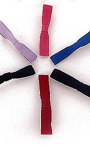 europeisk stil liten frisk klut bow duckbill hårnål