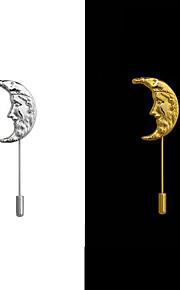 Licht Metaal Heren/Dames Broche Goud/Zilver