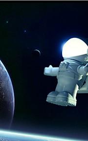 ny arrvial usb astronaut lys / søt astronaut pc lampe ledet nattlys nødlys
