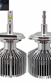 teso 30w dc11-30v 3000lumens eléctricas de alta h4 philipssmd alto brillo LED de los faros de los faros de un coche.