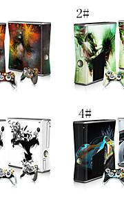 decals skin sticker voor xbox360 slim console&2 controllers