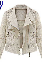 ZAY Women's Lace Hollow Out Cardigan All Match Short Coat