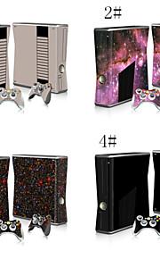 decals huden sticker til xbox360 slim konsol&2 controllere