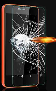 ohut hd selkeät räjähdysturvallisella karkaistu lasi näyttö suojelija kattaa microsoft lumia 640