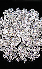 Bruiloft/Feest/Causaal Kristal/Legering/Verzilverd , Zilver)