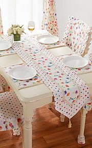 более высокого класса ткани двойного стол флаг семь фиолетовый цвет