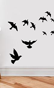 벽 스티커 벽 데칼, 비행 조류의 PVC 벽 스티커