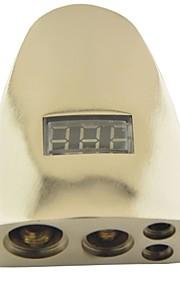 12v bil auto digitale display positiv 0/8 gauge awg bilens batteri terminal klemme (1stk)
