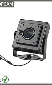 topcam minature skjult 1,3 megapixel ip kamera med 3,7 mm pinhole linse 130 P p2p kamera