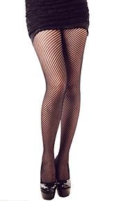 Women's Mesh Twill Patterned Pantyhose