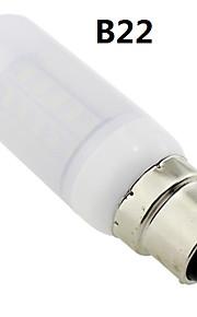 b22 / e27 / G9 6w 36x5730 cms 400 ~ 450lm lumière blanche chaude conduit couvercle dépoli ampoule de maïs AC 220V ~ 240V