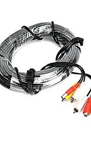 50m RCA naar RCA-kabel