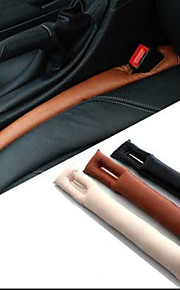2PCS Faux Leather Car Seat Gap Pad Fillers Holster Spacer Filler Padding Protective Case
