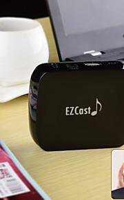 ezcast M7 wi-fi audio di musica qplay supporto ricevitore streamer, dLAN, airplay, ghisa ez - nero
