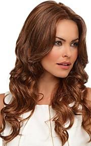стильные шикарные волосы человека девственница Remy длинные волнистые кружева перед парики
