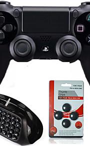 Sony PS4 - # Recargable/Empuñadura de Juego/Bluetooth/Teclado - Plástico - Bluetooth - Controles/Adaptador y Cable -