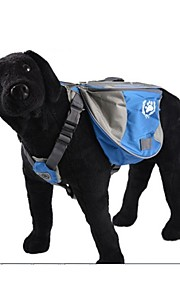 Pack Dog Saddle Bag Backpack Bag Quick Release Backpack Dogs Bag for Outdoor Hiking Camping Training Pet Carrier -Large