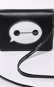Women 's PU Baguette Shoulder Bag - White/Green/Brown/Red/Black