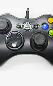 kinghan® bedrade usb gamepad controller voor Microsoft Xbox 360& slanke pc windows