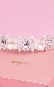 Women's Pearl/Crystal/Alloy Headpiece - Wedding/Special Occasion Headbands 1 Piece