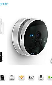 snov ip wifi telecamera di sorveglianza IR con sensore wireless porta, 32gb carta di tf, monitor HD bambino, p2p, android app&ios