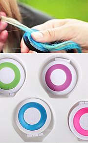 rask hårfarge fargerike pulver boks (4 farger / 1 sett)