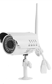 IP Camera Al Coperto - Proiettile - Impermeabile/Sensore di movimento/Filtro IR-cut /Plug-and-Play