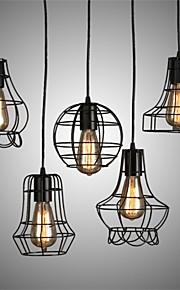 Metal - Lámparas Colgantes - LED/Bombilla incluida - Tradicional/Clásico/Rústico/Campestre/Cosecha/Retro/Farol/Campestre