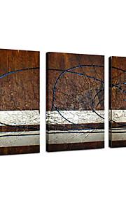 visuele star®handmade canvas olieverf abstract uitgerekt canvas schilderij klaar te hangen