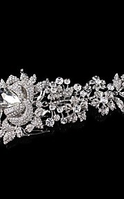 Hairpin Peral Comb for Women Rhinestone Crystals Wedding Hair Accessories Party Wedding Bridal Jewelry