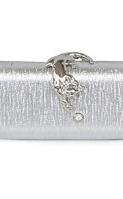 Handbag Matte Silk/Silk/Metal Evening Handbags/Clutches With Lace/Metal