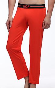 Men's Cotton Long Johns SleepWear Trouser