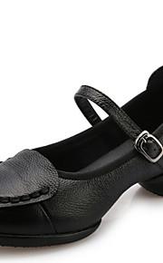 Женская обувь - Кожа - Номера Настраиваемый ( Черный/Красный/Серый ) - Современный танец