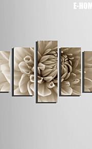 e-Home® venytetty kankaalle taide kukat koriste maalaus sarja 5