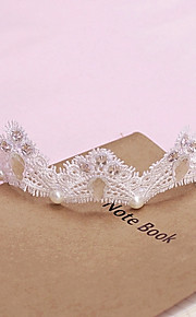 Women's Lace/Rhinestone Headpiece - Wedding/Special Occasion Headbands 1 Piece