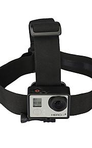 Kingma elastisk justerbar hoved strop med simpel anti-slide lim, for GoPro hero 4/3 + / 3/2/1, Xiaoyi kamera