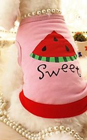 T-shirt - di Cotone - Rosa - Matrimonio/Cosplay