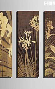 e-Home® venytetty kankaalle taiteen kukka koriste maalaus sarja 3