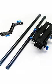 PTZ + quick release plade + skinner + z typen plejlstang RL-04 skulder pad vedhæftet beslag