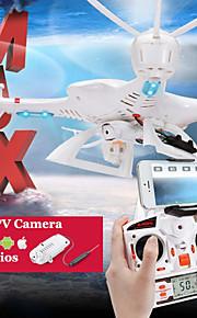 MjX X400 kanssa c4005 wifi FPV rc quadcopter rakentaa HD kamera 3d flip päätön tilassa yksi avain palautumaan