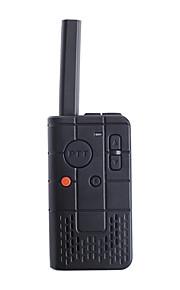 baiston bst-U100 professionele mini walkie talkie 16-ch 400 ~ 470MHz twee manier radio - zwart