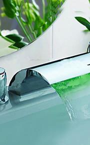 Modern - LED / Waterval - Messing ( Chroom )