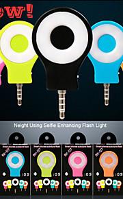 mini bærbare magtfulde nat ved hjælp selfie øge flash førte fill-in lys til telefon ios / android / wp8.0 / selfie / kamera