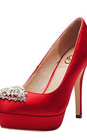 Chaussures de mariage - Noir / Bleu / Jaune / Vert / Violet / Rouge / Blanc / Champagne - Mariage / Habillé / Soirée & Evénement -Talons