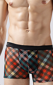 Men's sexy transparent boxer sexy men underwear