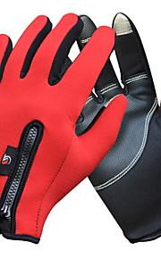 Guantes Ciclismo / Bicicleta Mujer / Hombres Dedos completosMantiene abrigado / Impermeable / A prueba de viento / Listo para vestir /