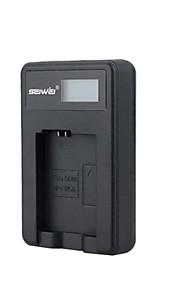 camera acculader met het scherm voor Sony NP-FW50 zwart