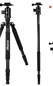 zomei z818c kulfiber legering backpacker rejse stativ kit til alle DSLR-kamera
