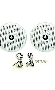 1Pair(160Watts) 6.5inch 2 Way Marine Boat Waterproof Speakers for Outdoor Marine Boat SPA UV-Proof